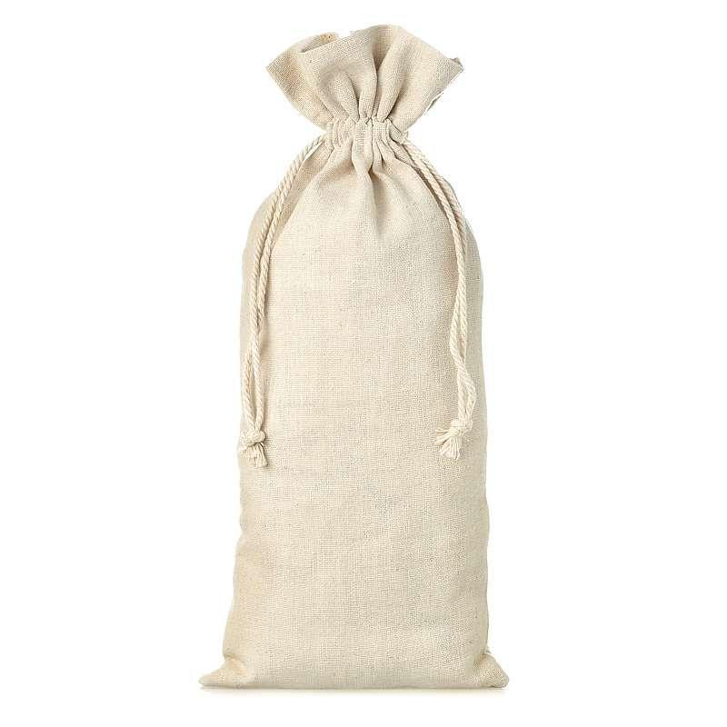 10 uds. Bolsa de lino 11 x 20 cm - natural