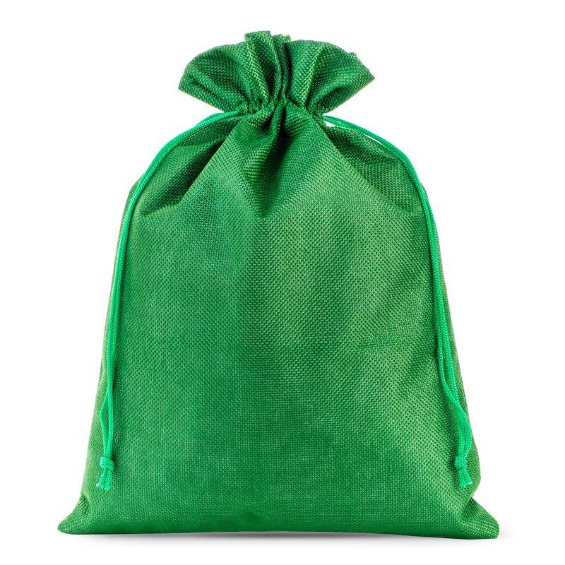1 uds Bolsas de yute 26 x 35 cm - verde
