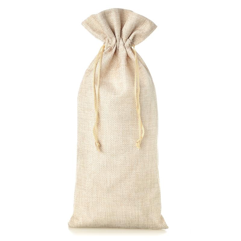 1 uds. Bolsa de yute 16 x 37 cm - natural claro