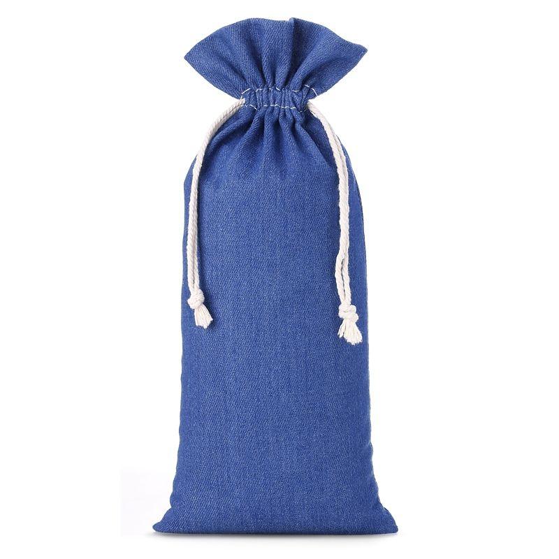 1 uds. Bolsa de jeans 16 x 37 cm - azul