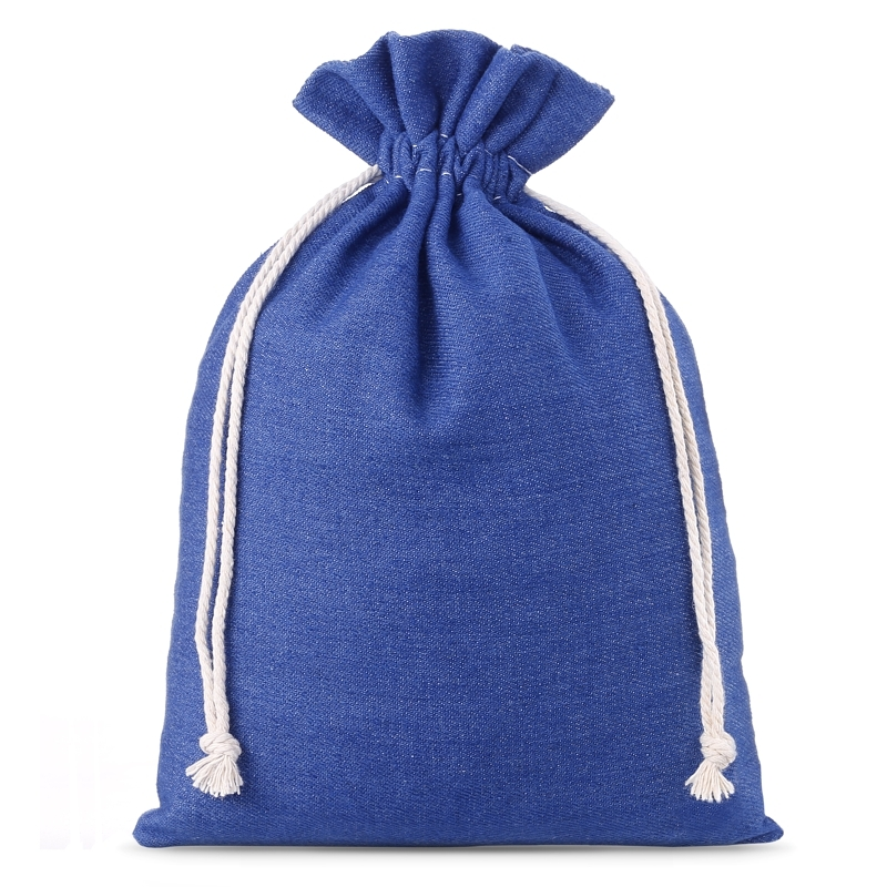 1 pz Bolsa de jeans 22 x 30 cm - azul