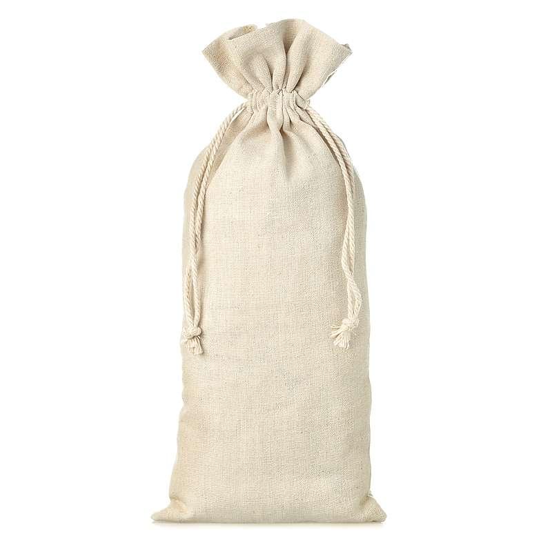 1 uds. Bolsa de lino 16 x 37 cm - natural