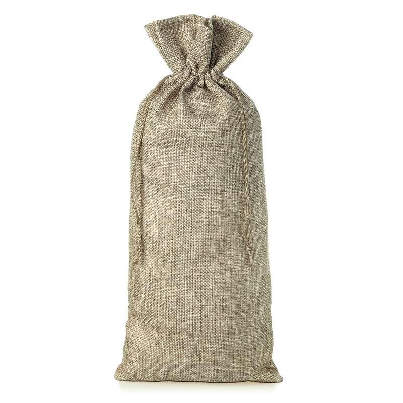 1 uds. Bolsa de yute 16 x 37 cm - natural bolsa de yute