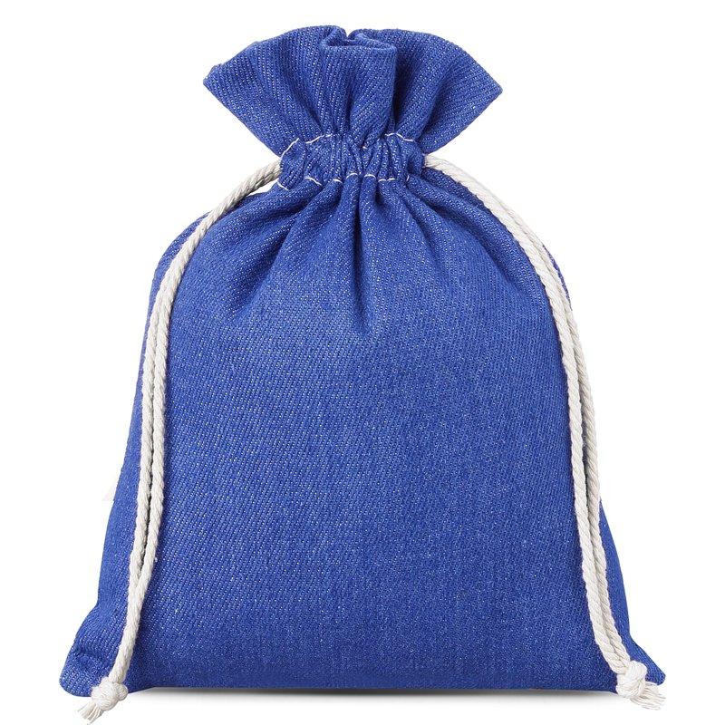 1 pz Bolsa de jeans 18 x 24 cm - azul