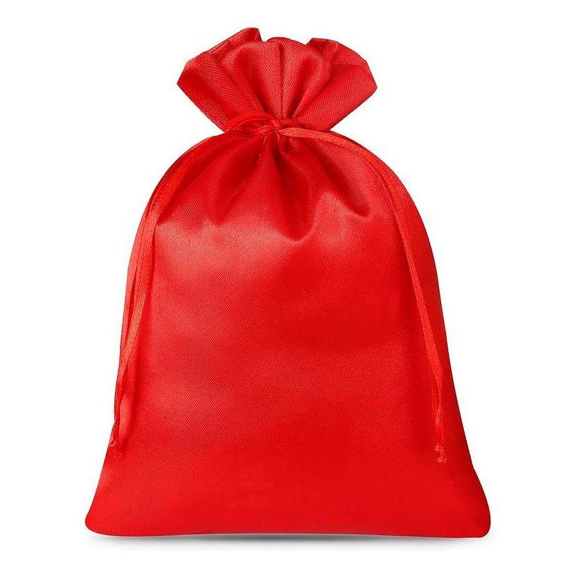 5 uds. Bolsas de satén 18 x 24 cm - rojo