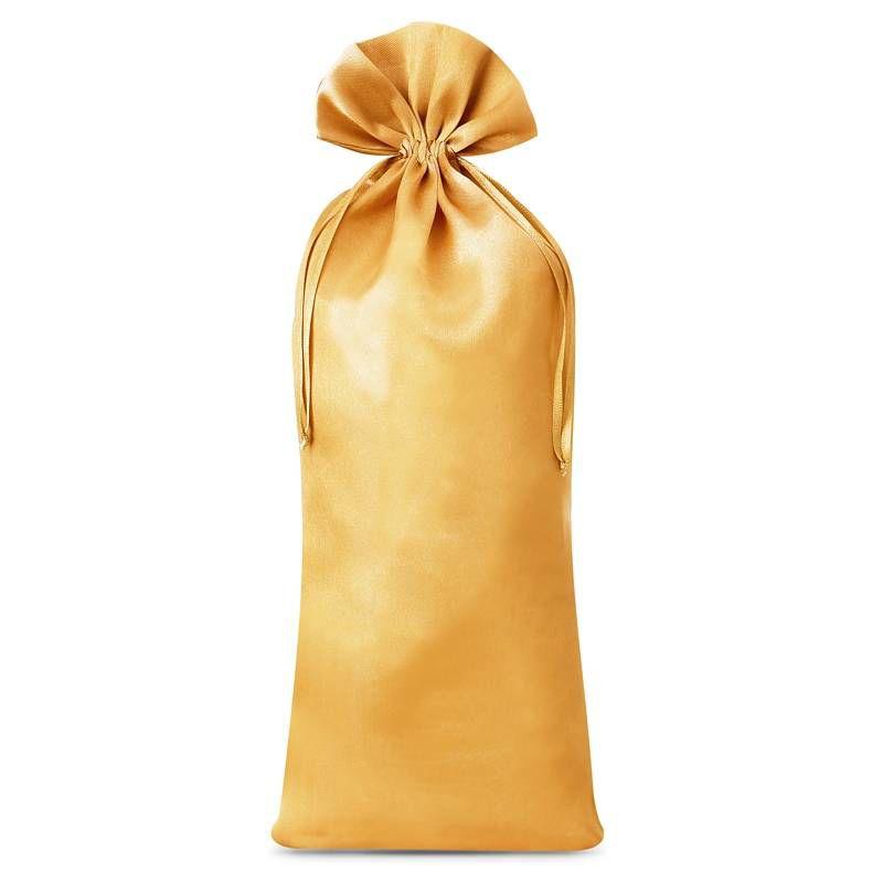 1 uds. Bolsa de satén 16 x 37 cm - dorado