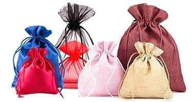 eace55cec Bolsas de organza, de lino & bolsa Yute! Tienda en línea! - Bolsas ...