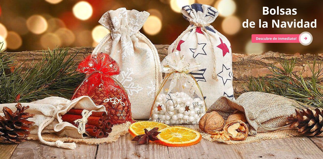 Bolsas de la Navidad