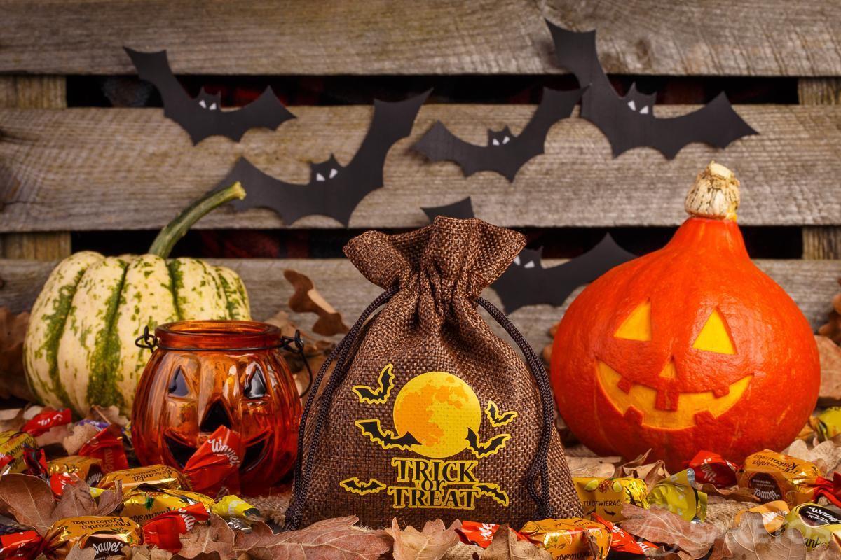 ¡envases de moda para los dulces de Halloween!