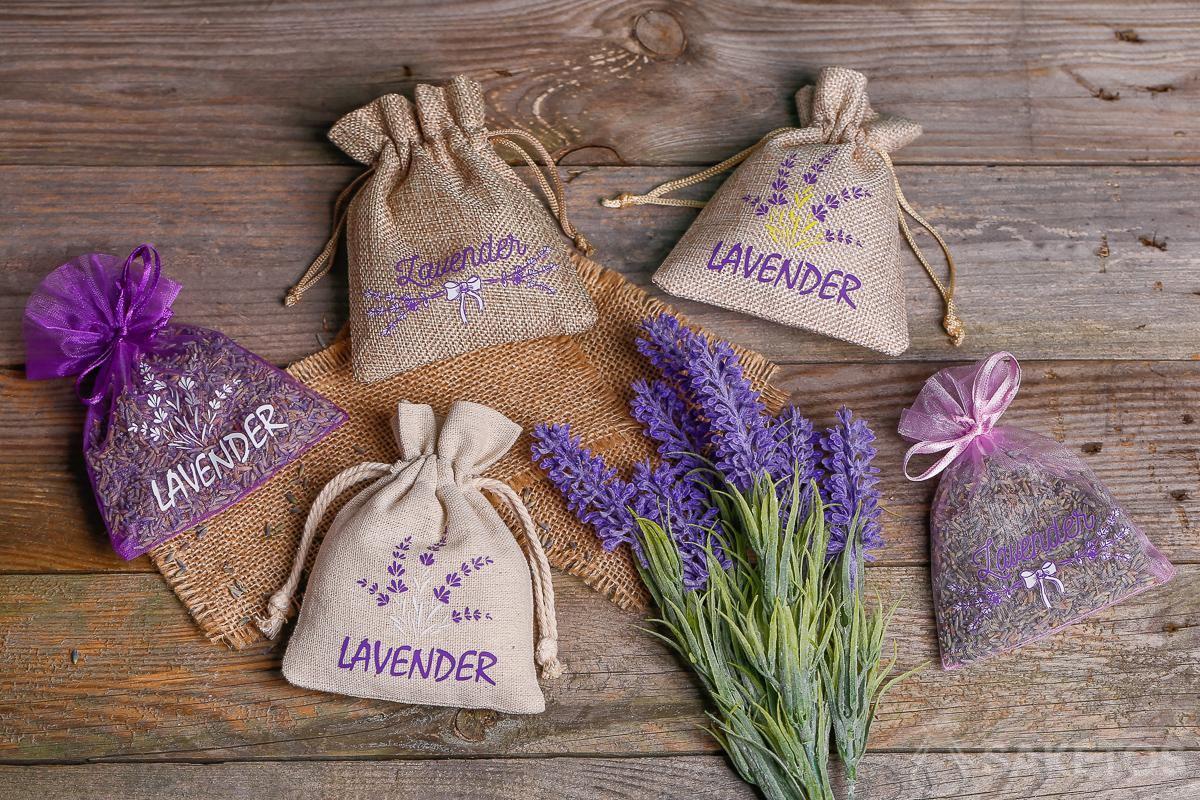 Bolsa de flores de LavandaQuitar DIY