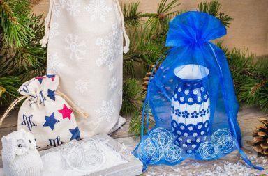 Gracias a las bolsas, el regalo no solo se ve elegante, sino también original.