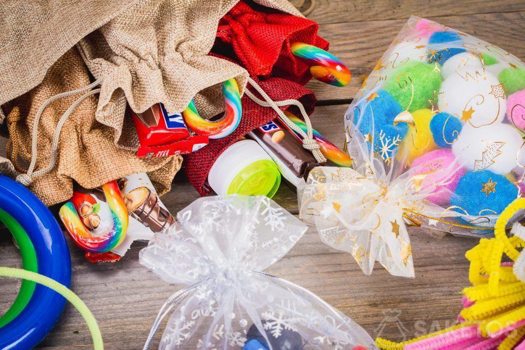 Embalajes para regalos de Navidad para niños