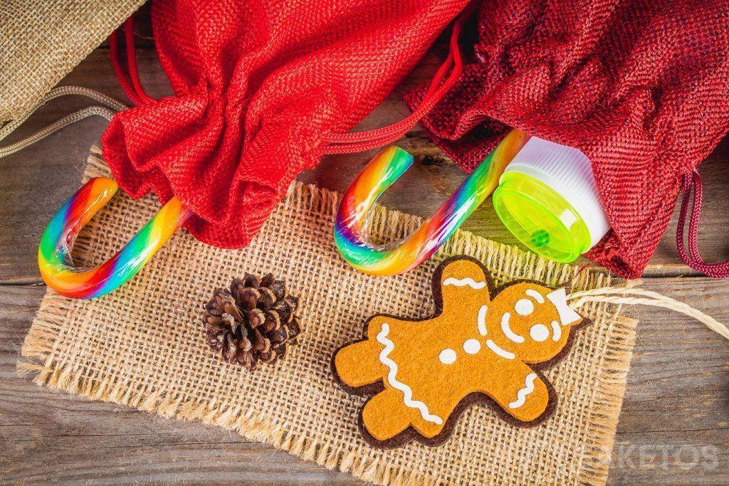 Embalaje de regalo de Navidad para niños
