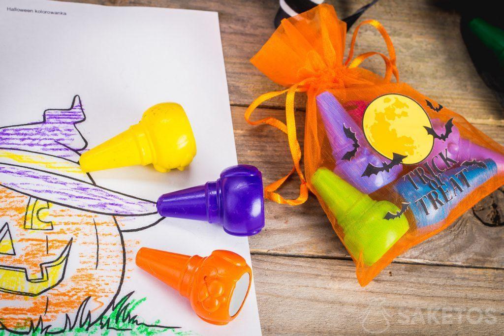 Las bolsas Halloween serán un perfecto elemento decorativo