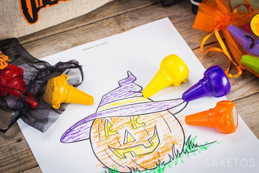 Las bolsas de Halloween también son adecuadas para almacenar artículos pequeños