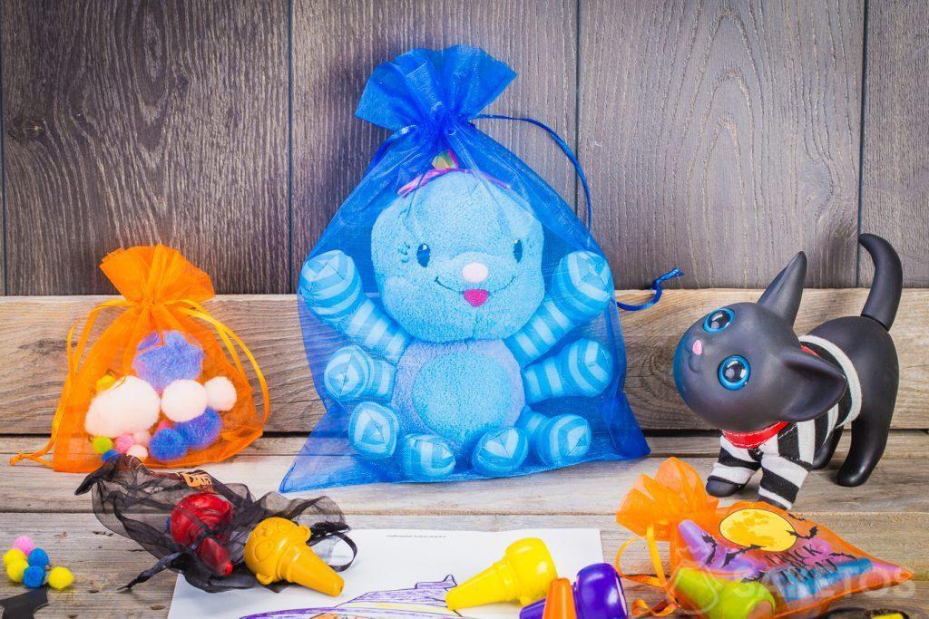 Como podemos observar, hay muchas posibilidades para usar bolsas decorativas de Halloween.