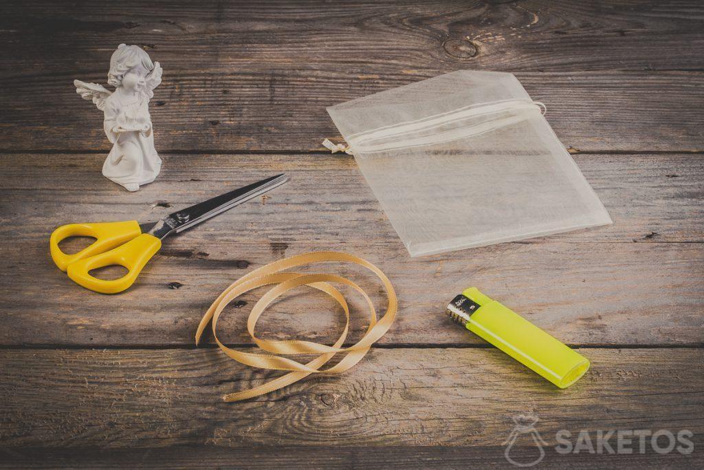 Paso 1: Primero, prepara los accesorios necesarios
