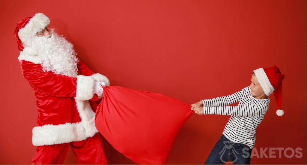 Papá Noel en la guardería