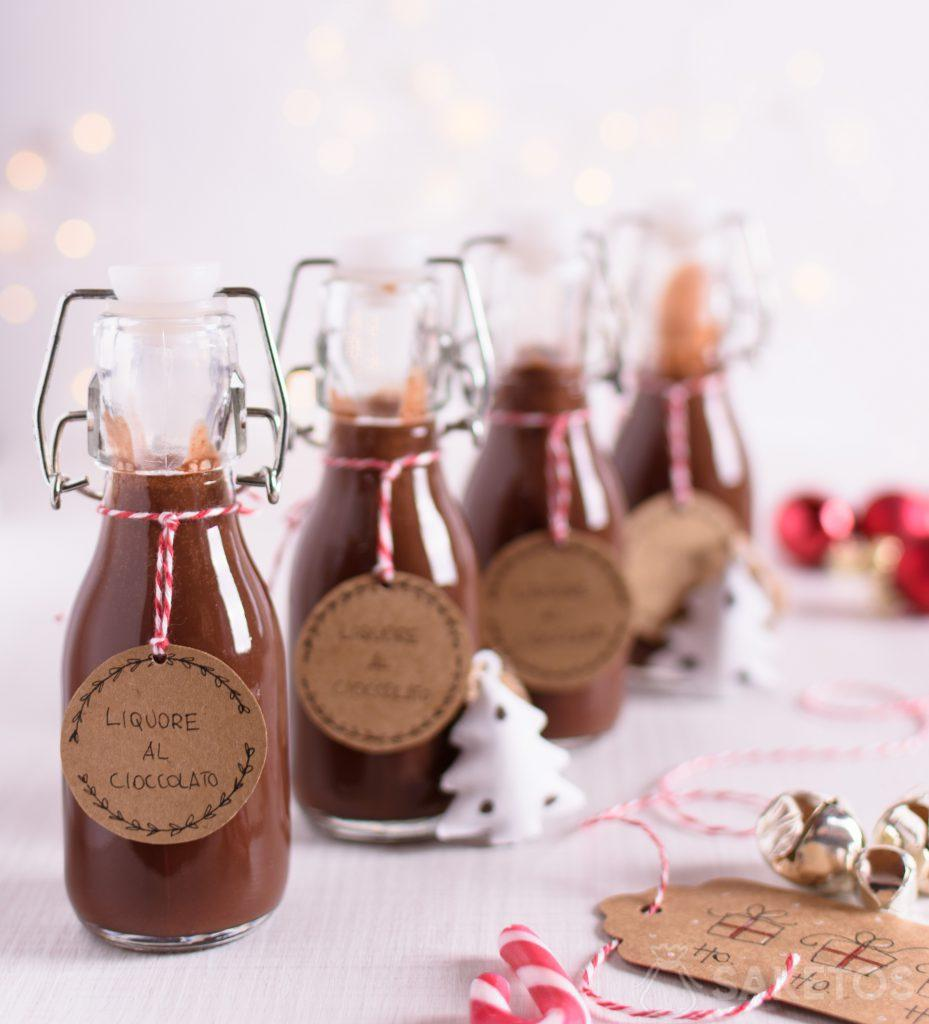 Licor es un regalo perfecto para los invitados a la boda o un regalo de Navidad.