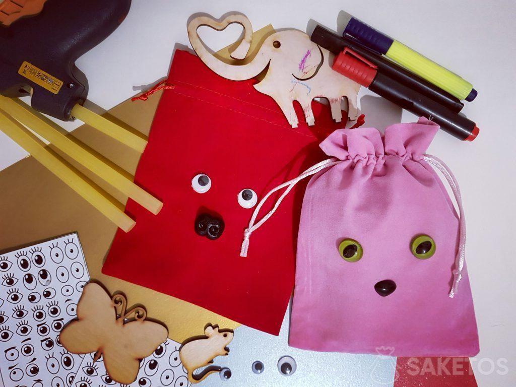 Bolsas decorativas para regalos: embalaje personalizado DIY
