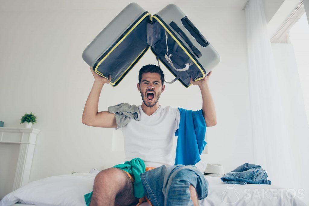 6.Empacar la maleta puede ser fácil.