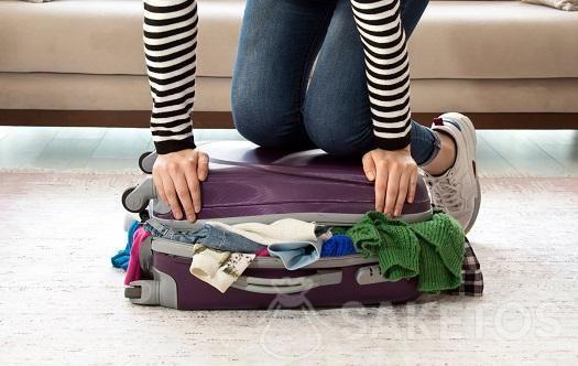 10. Hacer la maleta de manera inteligente.