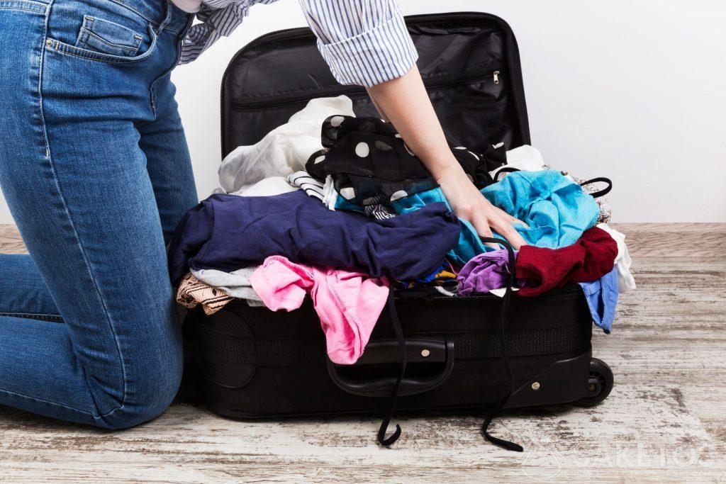 1.¡Los organizadores para maleta de viaje te ayudarán a evitar esto!