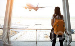 Viaje cómodo con una mochila como equipaje de mano
