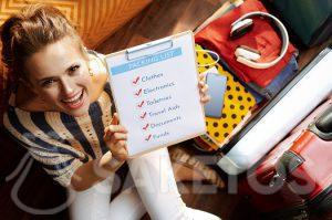 Antes de empacar prepara tu checklist
