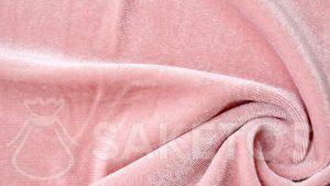 1.Tela de terciopelo en color rosa