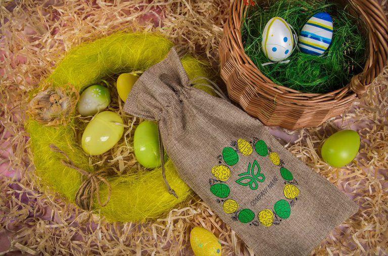 Embalajes para regalos de negocio para Pascua